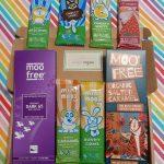 Moo Free Vegan Chocolate Sweets Letterbox Gift Hamper Selection Box